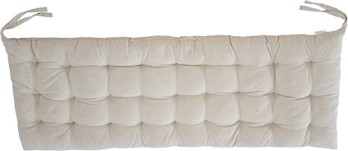 """Cottone 100% Cotton Bench Pads w/Ties 