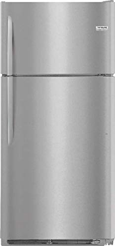 Frigidaire FGTR1837TF Gallery Series 30 Inch Freestanding Top Freezer Refrigerator with 18 cu. ft. Total Capacity, in Stainless Steel ()