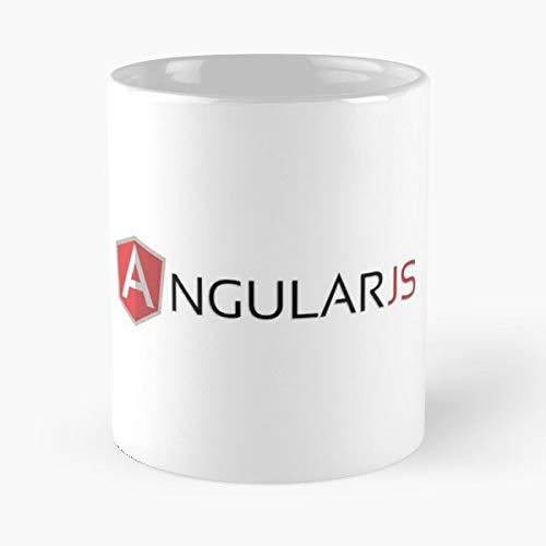 Angular Angularjs Es6 Es7 Ceramic Coffee Mugs 11 Oz - Funny Best Gift