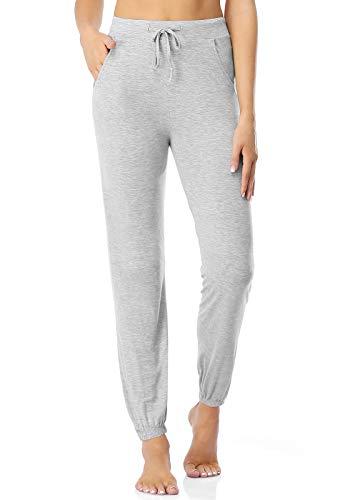 Air Curvey Casual Womens Pants Soft Lounge Pants Sleep Pajama Bottoms with Pocket