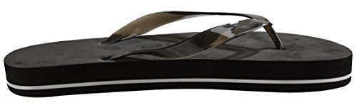 Darice Vient De Marier Noir Sandales Flip Flop Taille 13 Chaussures De Mariage Pour Hommes
