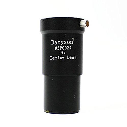 "Lwang 5x Barlow Lens 1.25"" 31.7mm Metal for Telescope Eyepie"
