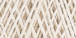 Aunt Lydia's Bulk Buy Crochet Cotton Classic Jumbo Crochet Thread Size 10 (2-Pack) Natural 153-226