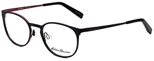 Eddie Bauer Designer Eyeglass Frame EB32205-BK in Black 49mm