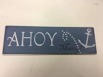 Amazon.com: Ahoy Matey Boys Cartel Arte de Pared (Madera de ...