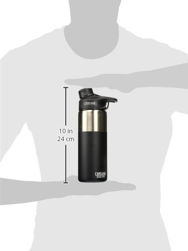 CamelBak (53863) Chute Vacuum Insulated Stainless Water Bottle - Jet, 20 oz