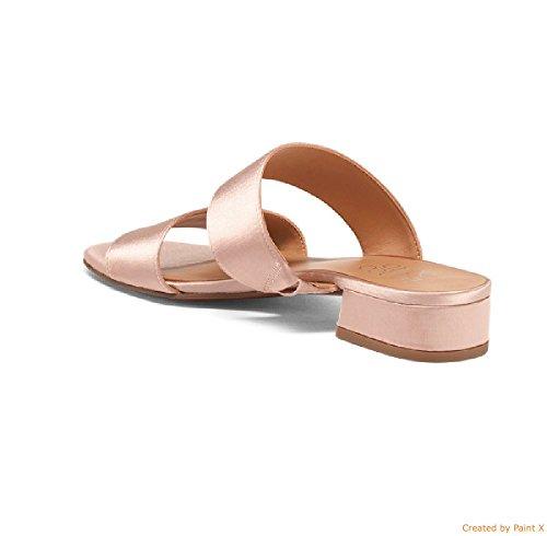 Franco Sarto Silas Blush Fb Donna Due Sandali Con Cinturino 8 Us