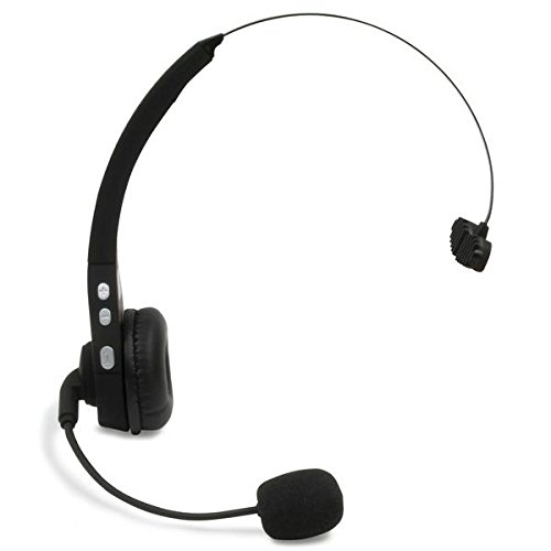 468e3e344ce Image Unavailable. Image not available for. Color: Roadking RK200 Wireless  4X Noise-Canceling Bluetooth Headset
