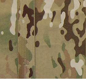1 Yard of 2 inch (50mm) Jacquard Woven Elastic Webbing in MultiCam Camouflage Pattern