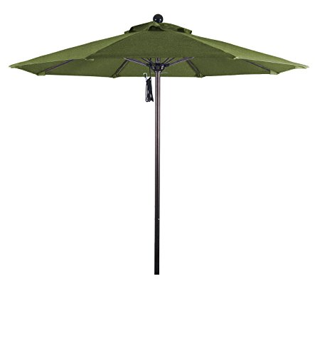(Eclipse Collection 7.5' Fiberglass Market Umbrella PO DVent Bronze/Sunbrella/Spectrum Cilantro)