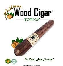 Wood Cigar® Cigar PipeTM invented and hand crafted in the U.S.A, the world's first real look smokers wooden cigar pipes made from a variety of premium wood flavors. *LOADING PIPE*: Grind substance, pack tight and tilt upward above 20 degree a...