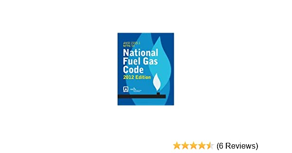 NFPA 54 - National Fuel Gas Code Book 2012