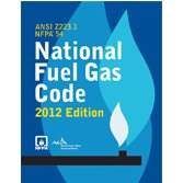 NFPA 54: National Fuel Gas Code, 2012 - National Gas Code