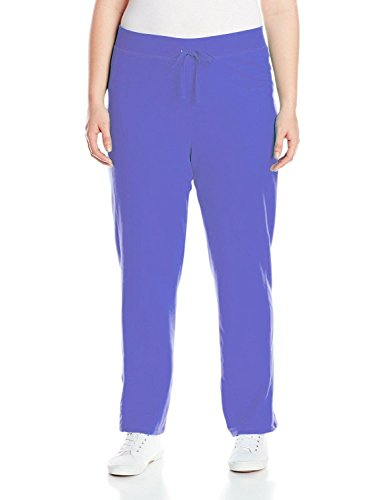 Plus French Terry Pants (Just My Size Womens Plus French Terry Pant (2X, Blue Iris))