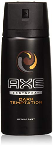 AXE Body Spray Dark Temptation, International Version, 150 Ml (Pack of 6)