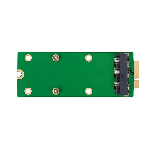 SHINESTAR mSATA to A1398 A1425 (2012 & Early 2013) Adapter for MacBook Pro Retina SSD Replacement, Mini PCIe SATA SSD Converter Card by SHINESTAR (Image #2)