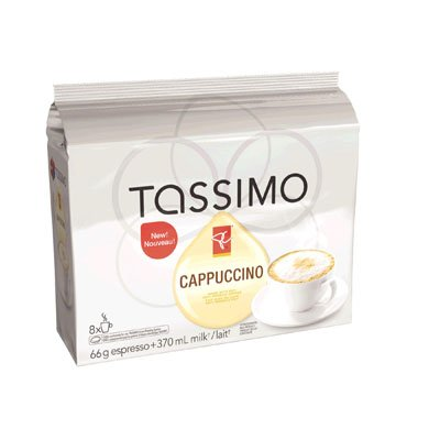 8-tdiscs-milk-tassimo-presidents-choice-cappuccino-coffee-100-arabica-from-canada