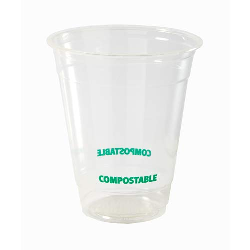Eco Guardian 12 Ounce PLA Compostable Cold Cup, Clear, 1000 pack by Eco Guardian (Image #8)