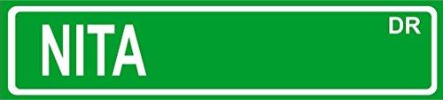 NITA Green Aluminum Street sign 4
