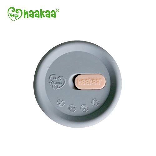 (Haakaa Leak-Proof Silicone Cap, 1 pk, Fit All Haakaa Breast Pumps, BPA PVC and Phthalate Free)
