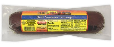 Dakota Brand Beef Summer Sausage (Pack of 3)