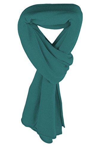 Ladies Ultrafine 100% Cashmere Scarf Wrap - Jade Green - made in Scotland by Love Cashmere RRP $400 by Love Cashmere