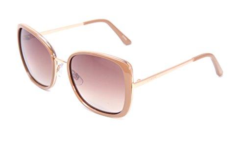Lucky Women's Hwoonud56 Round Sunglasses, Nude, 56 - Fast Sunglasses Prescription