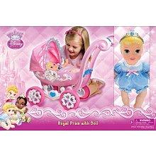 Amazon Com Disney My First Princess Royal Pram With Doll