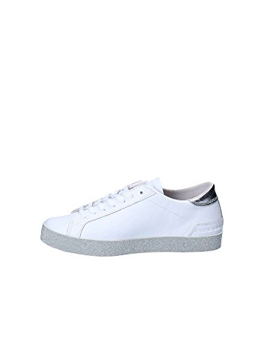 D Glitter 40 Scarpa Pelle t Low 26784 a e Bianco Hill Sneakers Donna Print CBwCgrPx