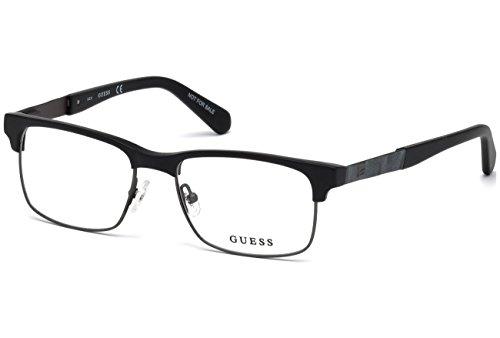 Guess GU1927 Eyeglass Frames - Matte Black Frame, 52 mm Lens Diameter - Sun Guess Glasses