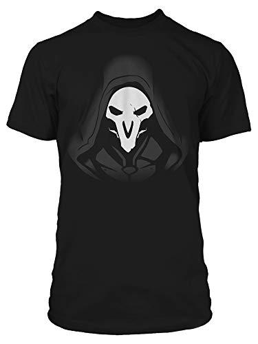 (JINX Overwatch Men's Reaper Remorseless Tee Shirt, Black, Medium)