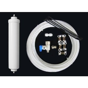 Clover Water Cooler Install Kit with Filter