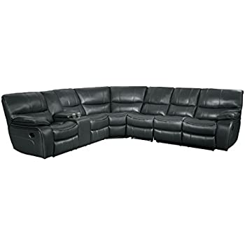 Amazon.com: Acme Furniture 53745 Saul Sectional Sofa with ...