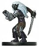 D & D Minis: Drow Fighter # 45 - Giants of Legend