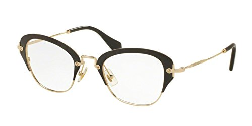 Miu Miu OMU 53OV Women Optical Frame (1AB1O1) ()