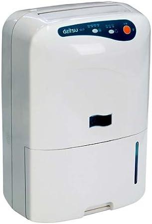 Daitsu ADD20 - Deshumidificador, 20L/d, modo silencioso, refigerante ecológico, deposito gran capacidad ahorro de energía, color blanco: Amazon.es: Bricolaje y herramientas