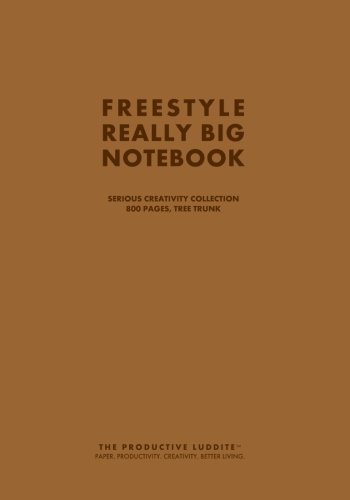Freestyle Really Big Notebook, Serious Creativity Collection, 800 Pages, Tree (Tree Huge Trunk)