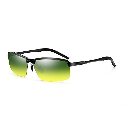 Aviador para de para Aluminio Vogue polarizador UV Gafas y sol Retro Hombres día Gray y Running Noche magnesio qzExdZw