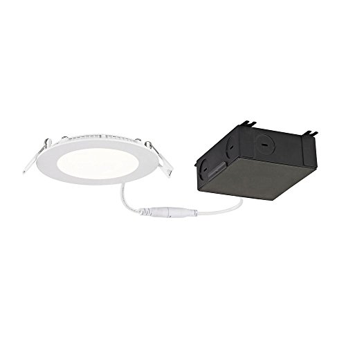 4'' Shallow Canless LED Recessed Light 3000K 650LM - IC and Airtight by Dolan Designs
