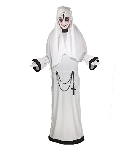 Sinister Sister Costume, Gothic Nun, Scary Mary, Halloween,