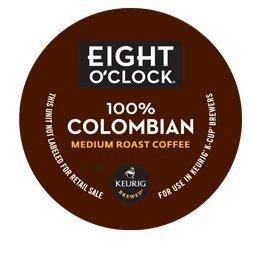 Hazelnut Coffee Millstone (Eight O'Clock Coffee 100% Colombian K-Cups - 24 Count Box)