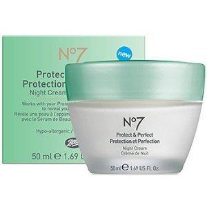 Boots No7 Protect & Perfect Night Cream 50ml(1.6 fl oz.)