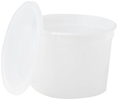 Medline DYND34270 Pathology Containers with Lid, Polyethylene, Non-Sterile, Latex Free, 64 Ounce Capacity (Pack of 50) by Medline (Image #1)