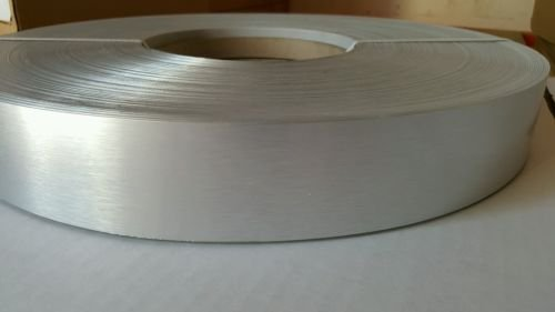 REAL ALUMINUM EDGEBANDING NONGLUED 1MM (7/8''x328') WITHOUT GLUE AUTOMATIC by Chiquinelly Supplies
