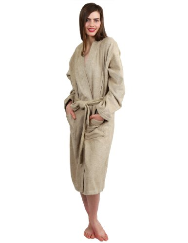 - TowelSelections Women's Robe Turkish Cotton Terry Kimono Bathrobe X-Large/XX-Large Desert Sand