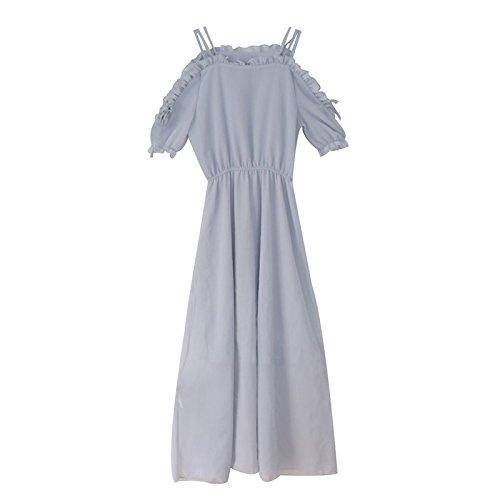 Une paule Robe MiGMV Robes Longueur de Gueules M UgWxaH