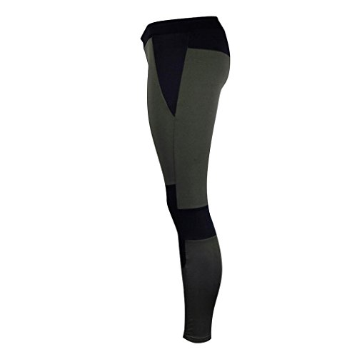 Damen Yoga Grün TUDUZ Strech Lange Yoga Sport Sporthose Leggings Gym Yoga Pants Leggings Fitnesshose HxCxdqwvO