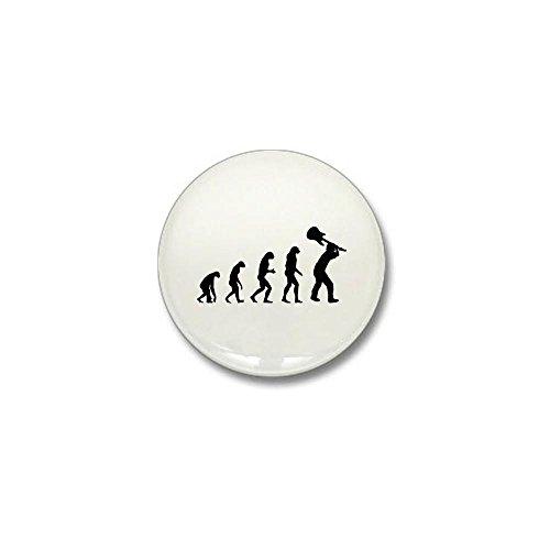 CafePress - Evolution rock Mini Button - 1