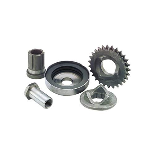 Bikers Choice Replacement Extended Crankshaft Nut for Compensating Sprocket and Cover Kit 346215