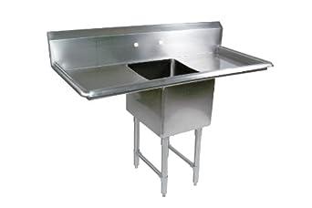 Amazon Com John Boos B Series Stainless Steel Sink 14